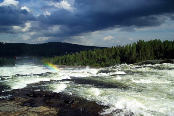 Storforse Rapids in Sweden