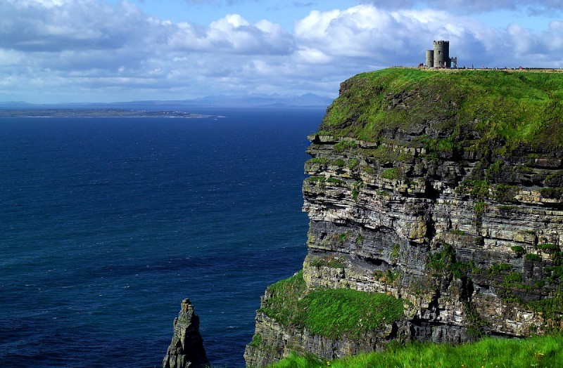 Rock of Moher - the tower
