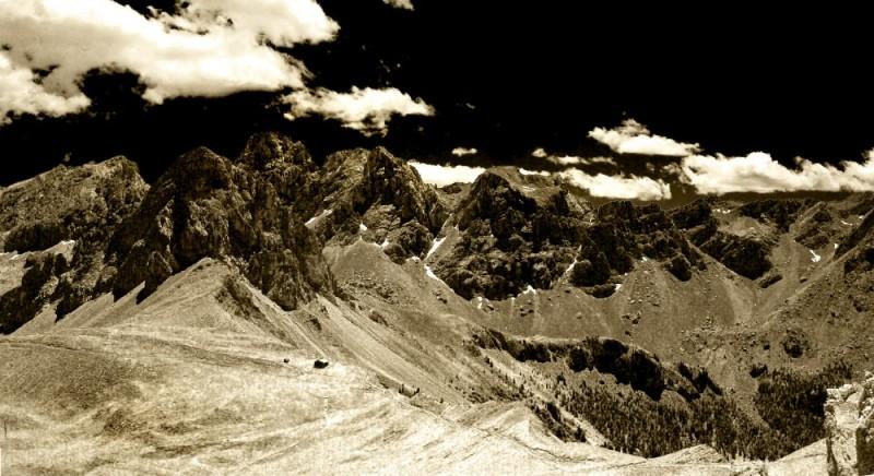 Andrea Auf dem Brinke, Man and Mountains, Canazei