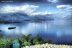 rocca di manerba, garda lake lago, auf dem brinke