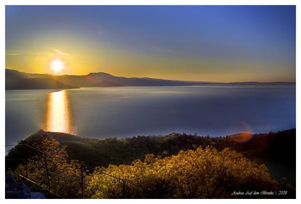 alba sulla rocca di manerba, sunshine, garda lake