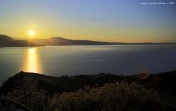 sunrise Manerba, Alba lago di Garda, Garda lake