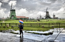 Rainy day in Holland