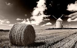 Wind mill in France