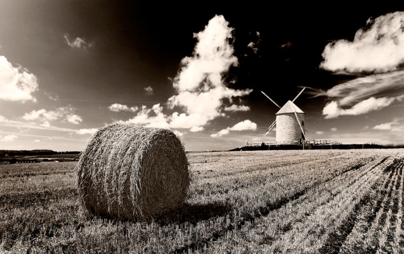 Wind mill in France