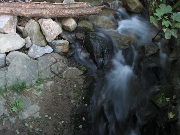 A little waterfall