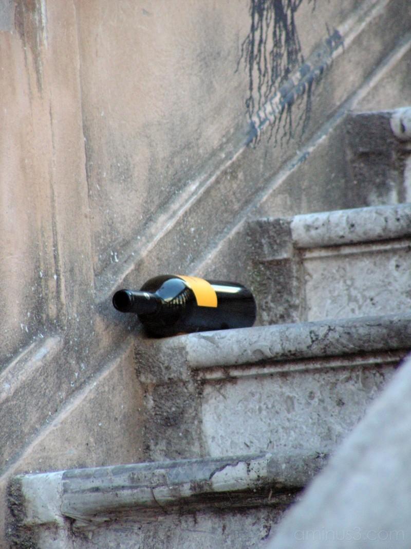 Spent Stairs & Wine