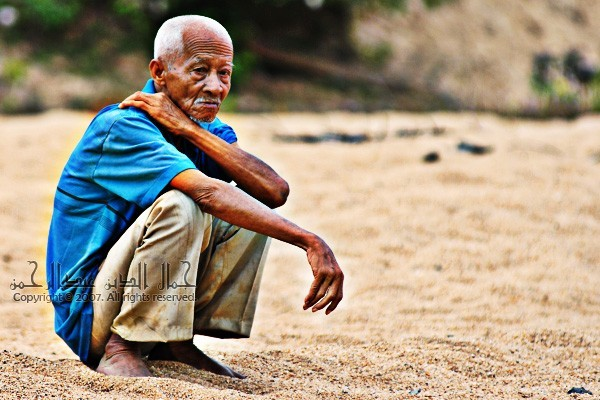 An old man from Kuala Sat