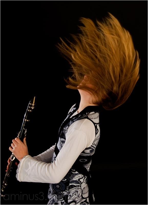 Klarinette, clarinet solo