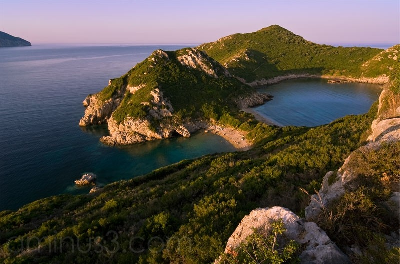 Korfu, Afionas Beach, Corfu