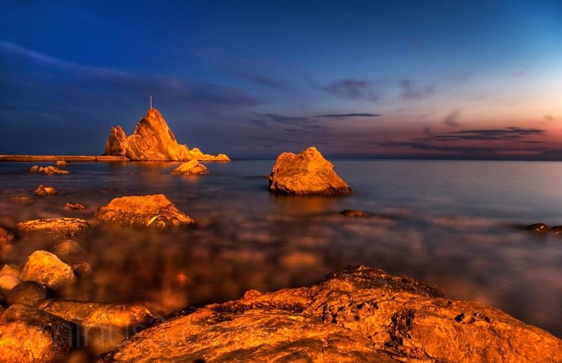 Riva Trigoso, Meer, sea, Italien