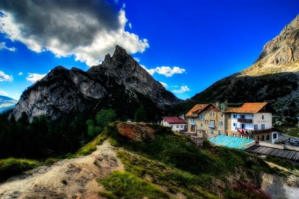 Dolomiten, Dolomite Alps, Falzarego