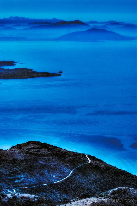 Peroulades, Korfu, Griechenland, Blue Velvet