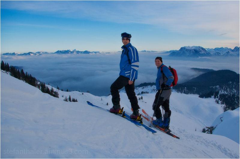 ski touring, Trainsalm, Skitour, Thiersee