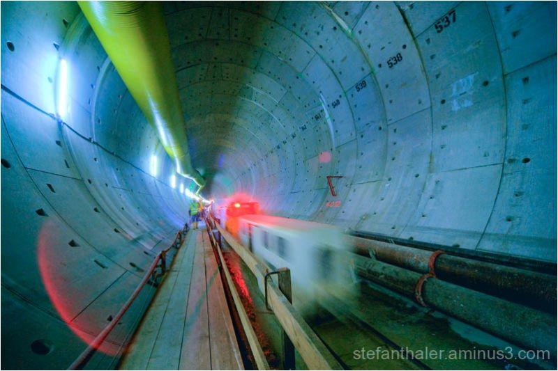 Inntal Tunnel, Eisenbahntunnel