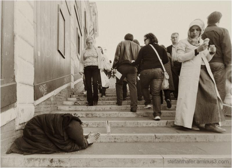 beggar-woman, Bettlerin