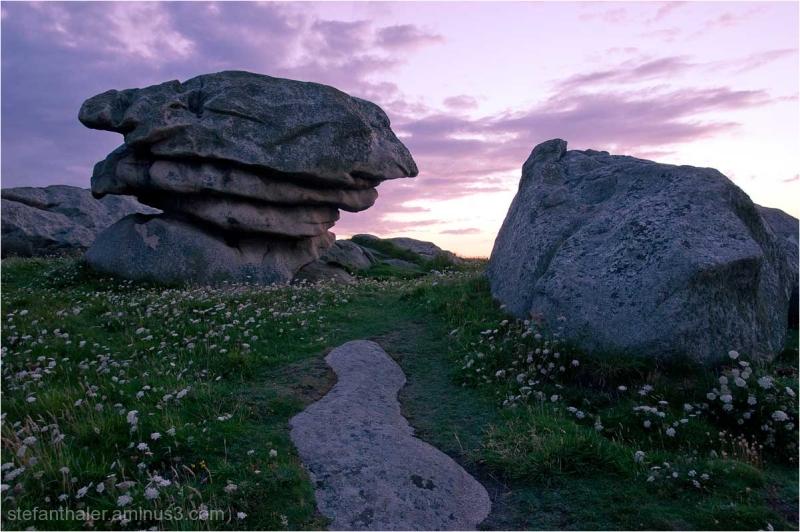 Steine, Bretagne