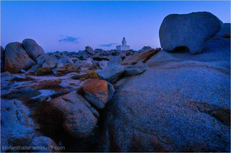 Lighthouse, Leuchtturm, Sardinien, Capo Testa