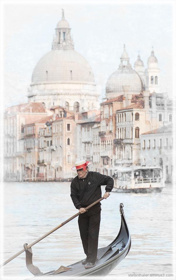 Venecia, Venedig, Gondoliere