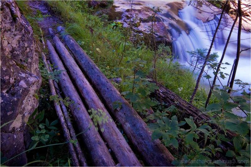 along the river  II