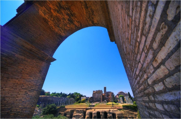 Kolosseum, Rom,  vista