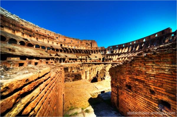 Kolosseum, Rom, Amphitheater