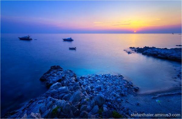 Calabria, Kalabrien, sunset