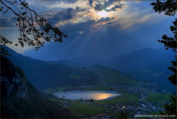 Thiersee, Vorderthiersee, See, goldener See, lake