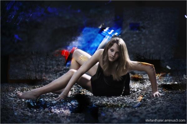 dark night,  special portrait