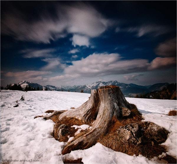 Semmelkopf, Thiersee, Berge, Wolken