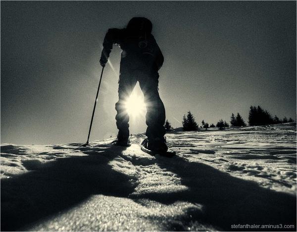 snowshoe, Schneeschuhe, Wanderung