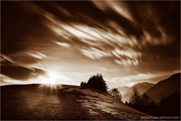 cloud spirits, Wolkenbilder, Thiersee