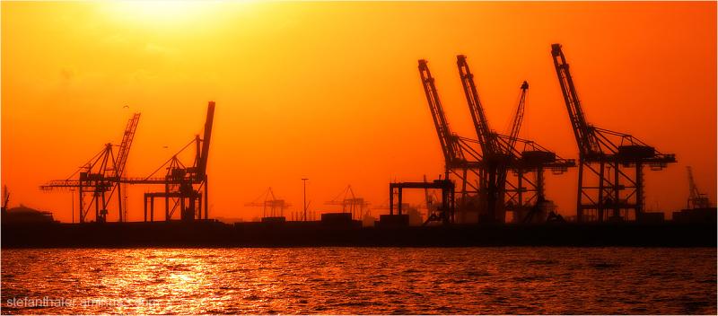 Cargo port, Barcelona, Frachthafen