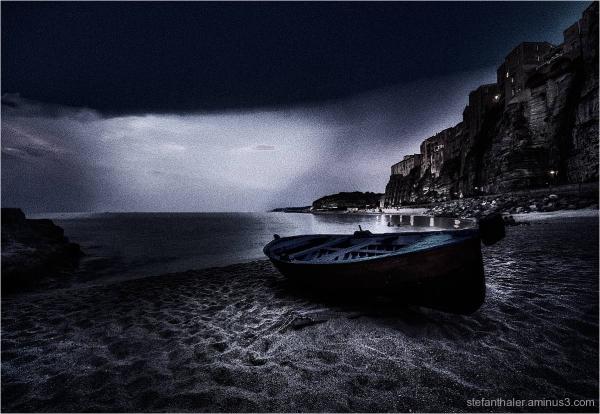 fisherman boat, tropea, , Boot, Fischerbot