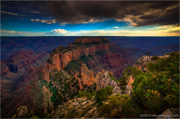 Cape Royal, grand canyon, point imperial