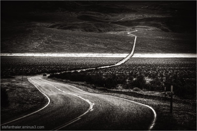 american road, death valley