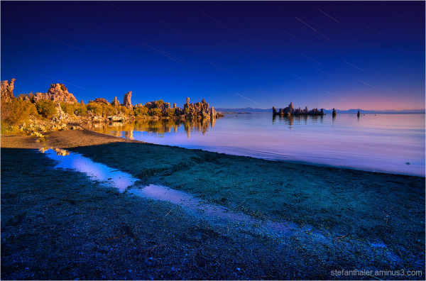 mono lake, sunrise