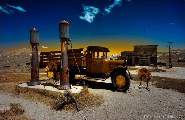 bodie , gas station