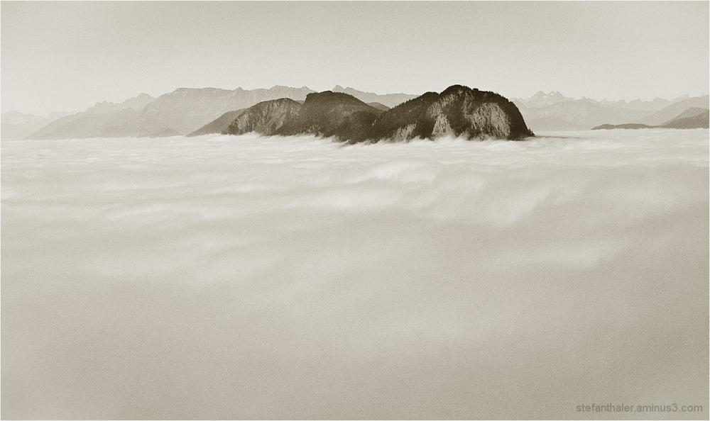 fog bank, Nebelbank, Pendling