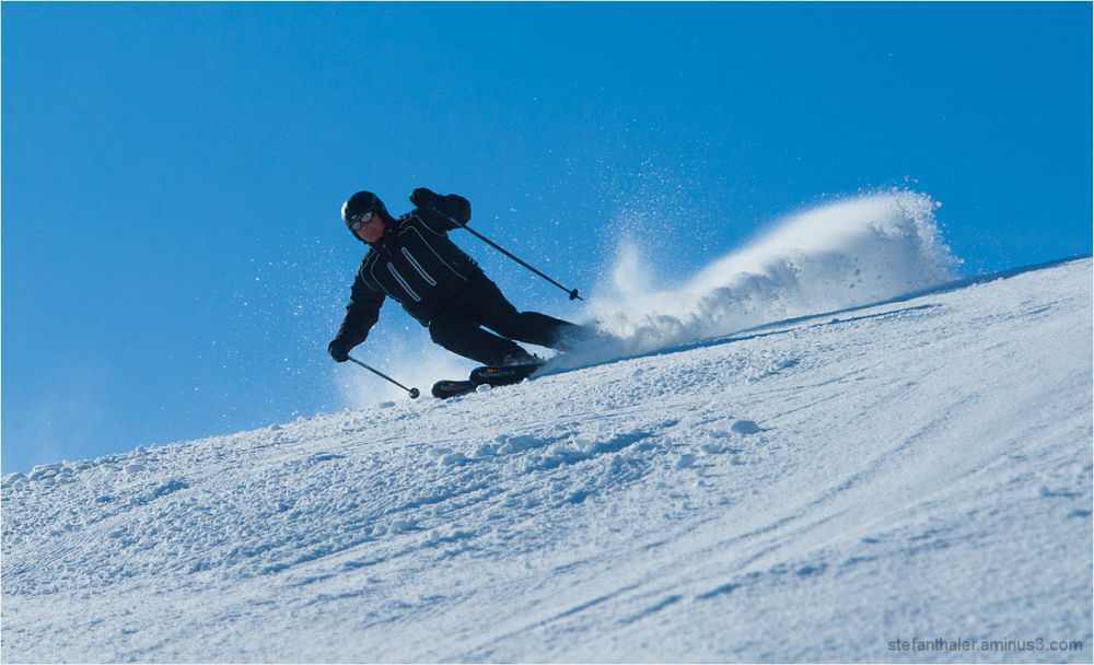 carving, snow, down the hills,