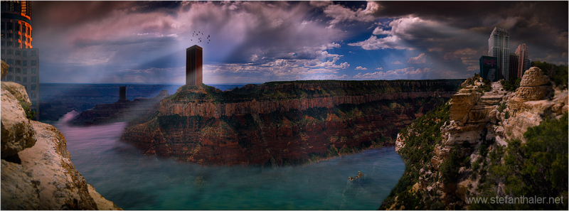 fantasiewelt, past or future, grand canyon