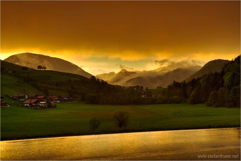 golden light, thiersee