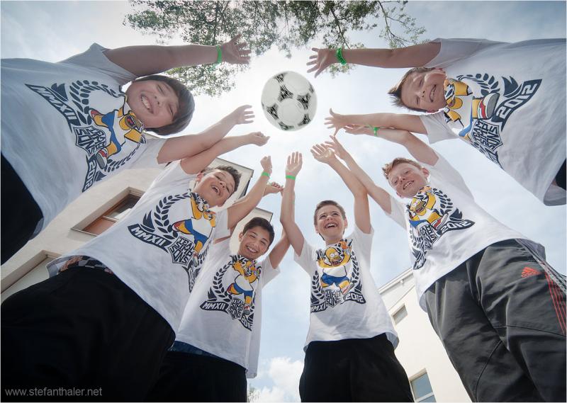 Mannschaft, Fußball, Freunde, Gemeinschaft