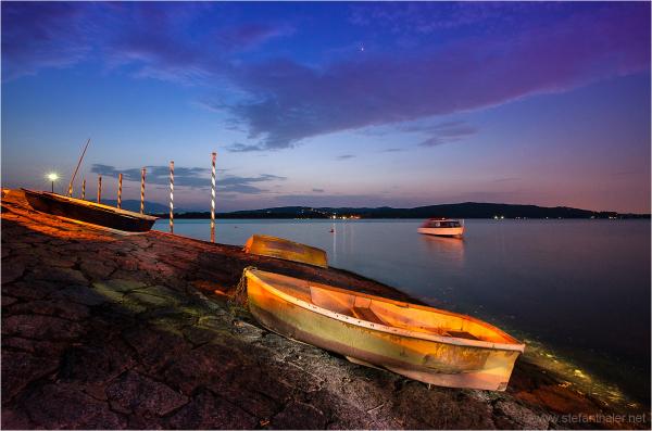 Night at Lago Maggiore, Lago Maggiore,