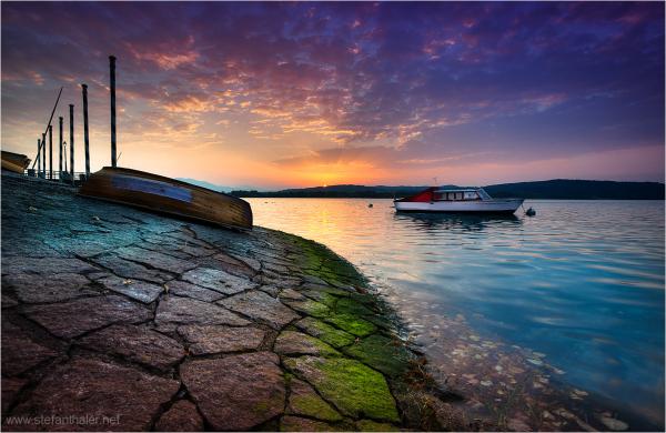 Lago Maggiore, Sunrise at Lago Maggiore