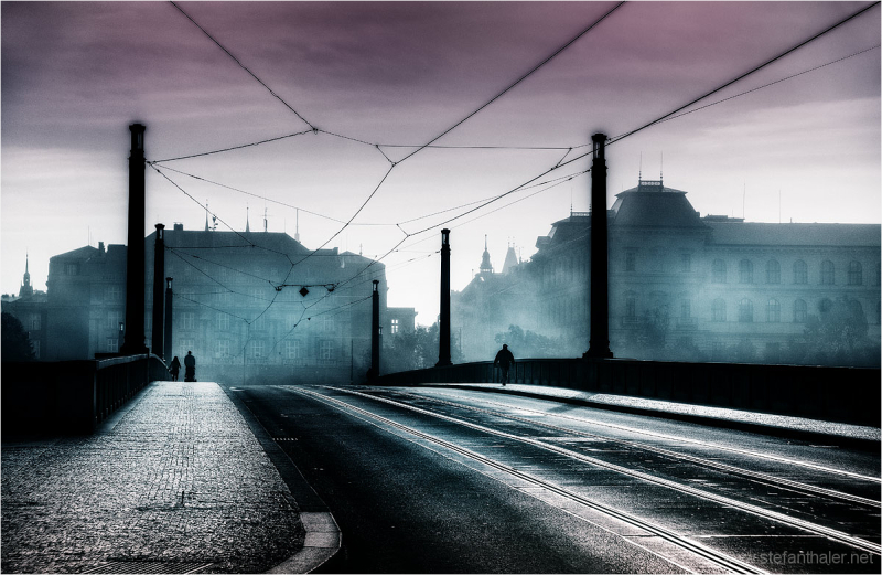 Prag, hazy days, dunstiges Wetter