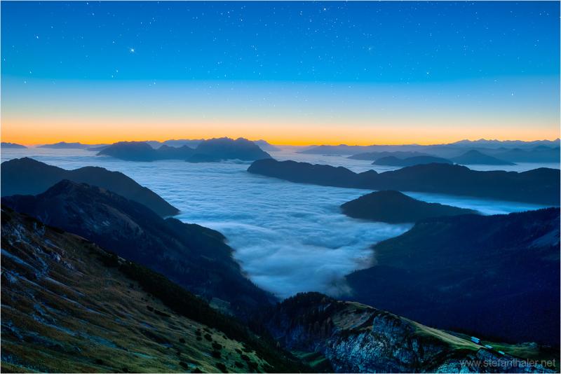Sea of clouds, clouds, nebelmeer, kaisergebirge,