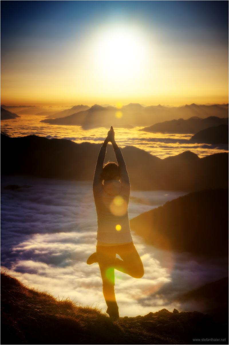 Yoga, relax, Entspannung, Meditation, sun