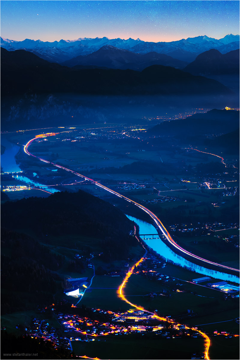 lights in the valley