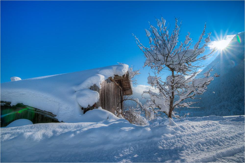 stadl, wnter, wintertime, snow